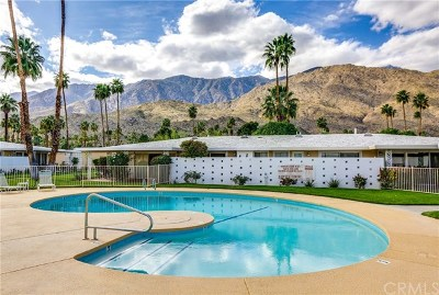 Palm Springs Condo/Townhouse For Sale: 2220 South Calle Palo Fierro #23
