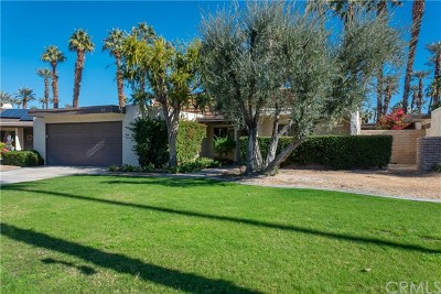Rancho Mirage Single Family Home Contingent: 28 Kevin Lee Lane
