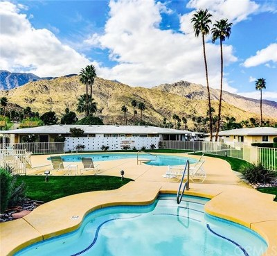 Palm Springs Condo/Townhouse For Sale: 2210 S Calle Palo Fierro #32