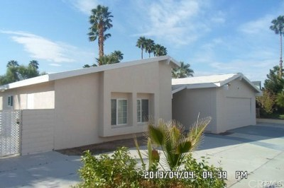 Palm Springs Single Family Home For Sale: 891 El Placer Road