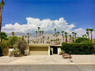 Palm Springs Single Family Home For Sale: 671 South Bedford Drive