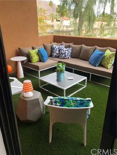 Palm Springs CA Condo/Townhouse For Sale: $375,000