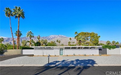 Palm Springs Single Family Home For Sale: 633 S Canon Drive
