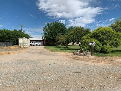 Blythe Single Family Home For Sale: 9180 N Intake Boulevard