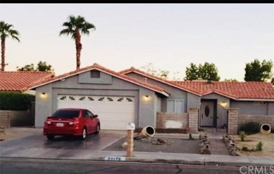 Cathedral City Single Family Home Contingent: 69175 San Helena Avenue