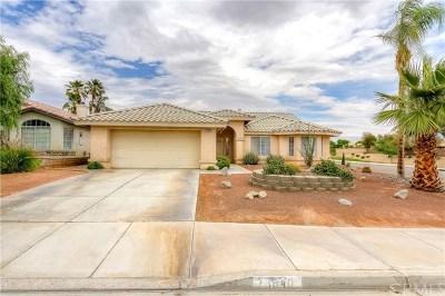 La Quinta Single Family Home Contingent: 78840 Nolan Circle