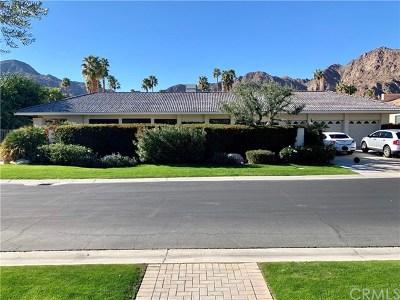La Quinta Single Family Home For Sale: 49155 Avenida Fernando
