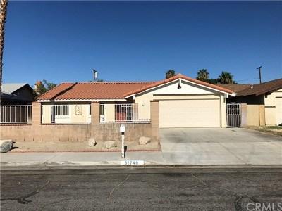 Cathedral City Single Family Home For Sale: 31740 Avenida Alvera
