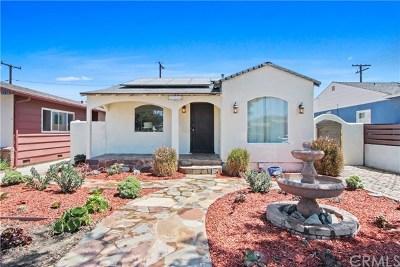 Single Family Home For Sale: 6230 Cerritos Avenue