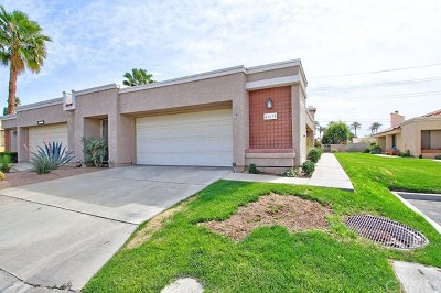 Palm Desert Condo/Townhouse Sold: 41670 Colada Court