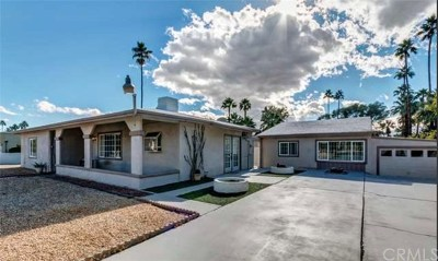 Palm Springs Single Family Home For Sale: 821 East Mel Avenue