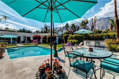 Palm Springs Single Family Home For Sale: 416 W Hermosa Place