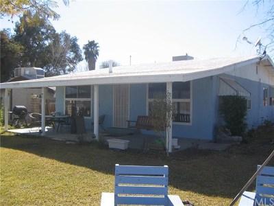 Blythe Single Family Home For Sale: 5180 Colorado River Road