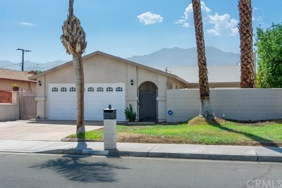 Cathedral City Single Family Home For Sale: 31121 Avenida El Mundo