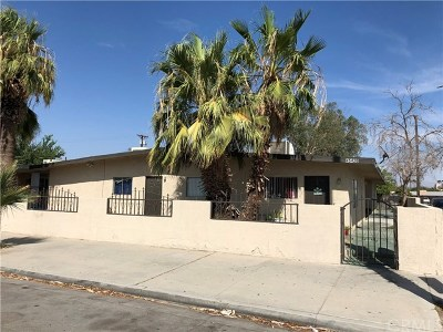 Indio Multi Family 5+ For Sale: 45420 Park Street