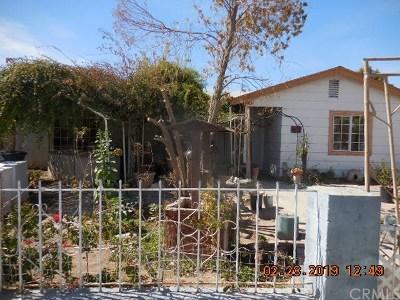 Blythe Single Family Home For Sale: 381 N Carlton Avenue