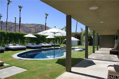 Palm Springs Single Family Home Contingent: 2408 South Yosemite Drive