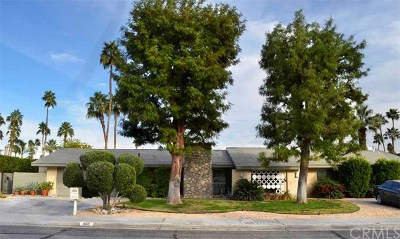 Palm Springs CA Single Family Home Contingent: $593,500