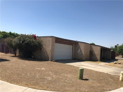Indio Single Family Home For Sale: 44213 Laurel Street