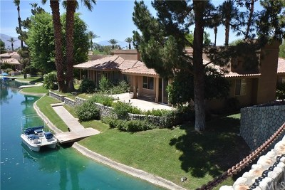 Rancho Mirage Condo/Townhouse For Sale: 1 Lake Shore Drive