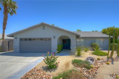 Cathedral City Single Family Home For Sale: 27155 Shadowcrest Lane