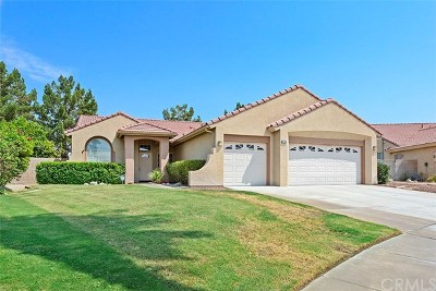 Cathedral City Single Family Home For Sale: 27954 Valencia Street