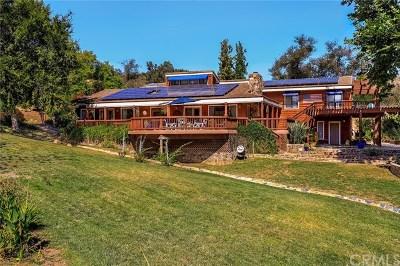 Single Family Home For Sale: 46155 Sandia Creek Drive