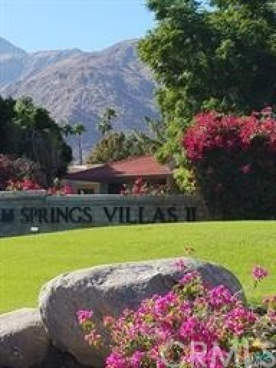 Palm Springs Condo/Townhouse For Sale: 675 North Los Felices Circle West #212