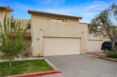 Cathedral City Condo/Townhouse For Sale: 33550 Rancho Vista Drive #C