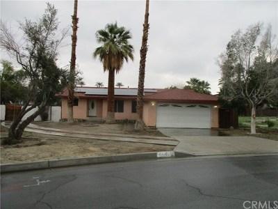 Palm Desert Single Family Home Sold: 44670 San Clemente Circle