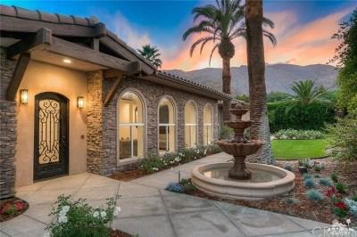 Palm Springs Single Family Home For Sale: 333 E Valmonte Sur