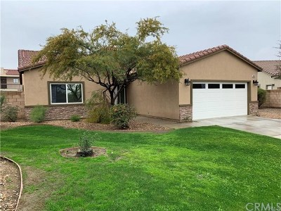 Indio Single Family Home For Sale: 81365 Van Gogh Court