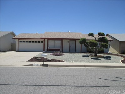 Sun City Single Family Home For Sale: 26289 Allentown Drive