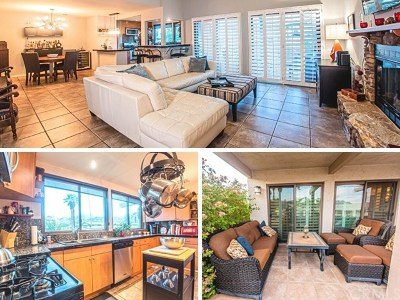 Palm Springs Condo/Townhouse For Sale: 5944 Spoon Road