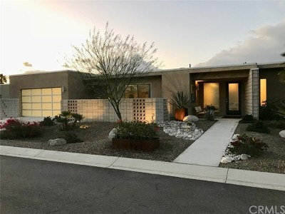 Palm Springs Single Family Home Contingent: 1095 Lucent Court