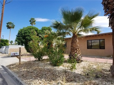 Palm Springs Single Family Home For Sale: 1653 East Sunny Dunes Road