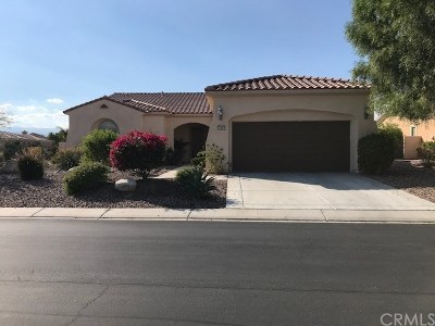 Indio Single Family Home For Sale: 40493 Camino El Destino