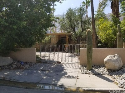Palm Springs Single Family Home For Sale: 817 North Via Monte