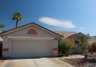 Indio Single Family Home Contingent: 80322 Moonshadow Drive
