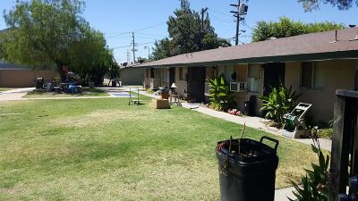 Clovis, Fresno, Sanger Multi Family Home For Sale: 3908 N Effie Street