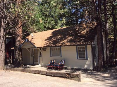 Bass Lake Single Family Home For Sale: 54672 Crane Valley Rd