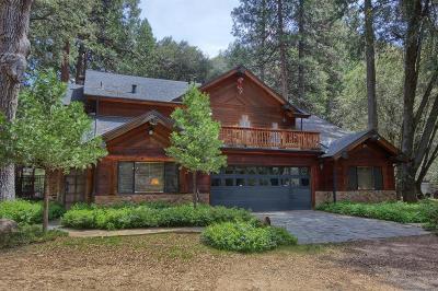 Bass Lake Single Family Home For Sale
