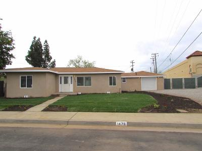 Clovis Single Family Home For Sale: 1476 Escalon Avenue