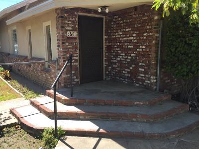 Selma Single Family Home For Sale: 2505 C Street