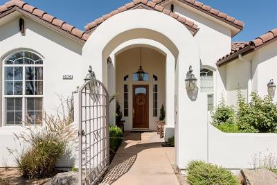 Clovis Single Family Home For Sale: 4574 N Quail Lake Drive