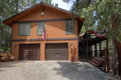 Bass Lake Single Family Home For Sale: 39406 Beaver