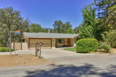 Oakhurst Single Family Home For Sale: 39468 Pine Ridge Road