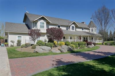 Clovis Single Family Home For Sale: 11640 E Santa Ana Avenue