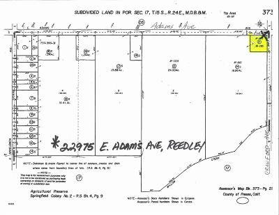 Reedley Residential Lots & Land For Sale: 22975 E Adams Avenue
