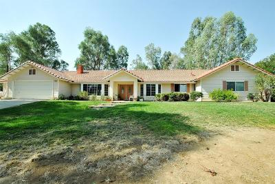 Clovis Single Family Home For Sale: 20098 Tollhouse Road